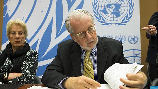 UNO sieht Hinweise auf Chemiewaffeneinsatz in Syrien