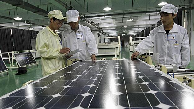 Brüssel beschliesst Strafzölle für Chinas Solarindustrie