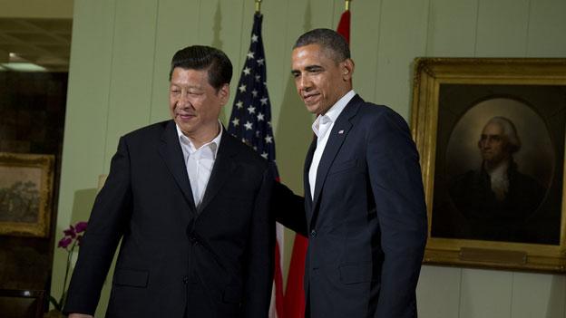 US-chinesischer Gipfel in lockerer Umgebung