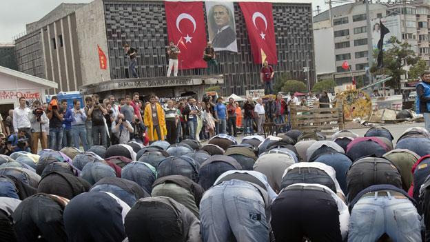 Die Spaltung der türkischen Gesellschaft