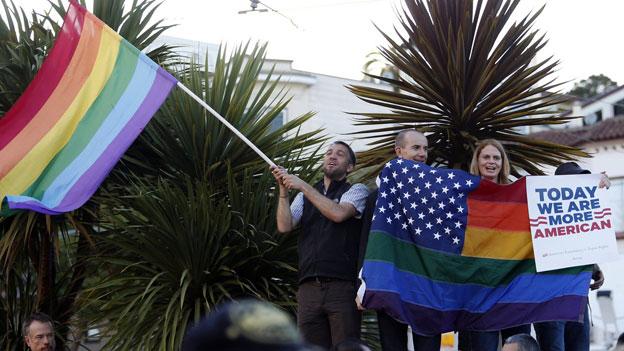 «Yes» zur Homo-Ehe - Jubel in San Francisco
