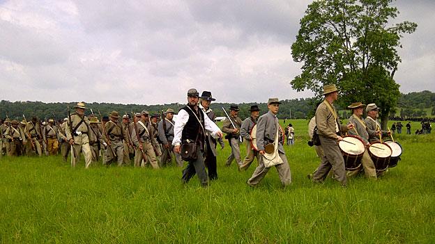 Die Schlacht von Gettysburg - 150 Jahre danach