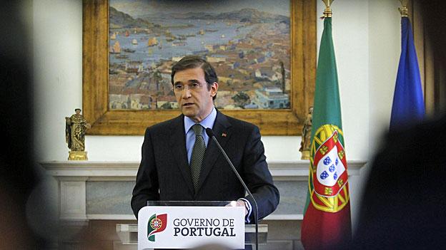 Portugals Regierung vor dem Aus