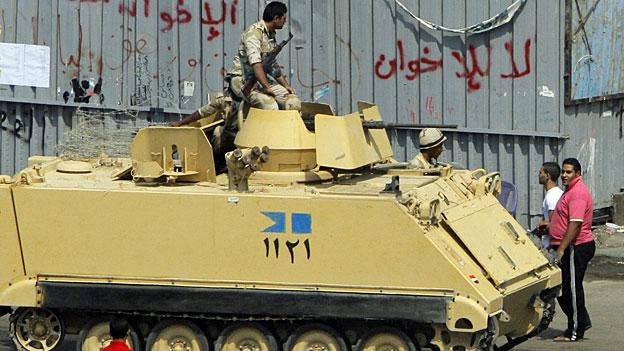 In Ägypten verschärft sich die politische Krise