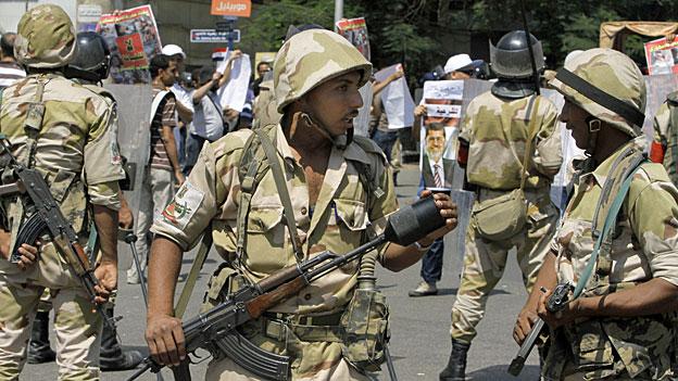 Ägyptische Sicherheitskräfte auf Islamistenjagd?