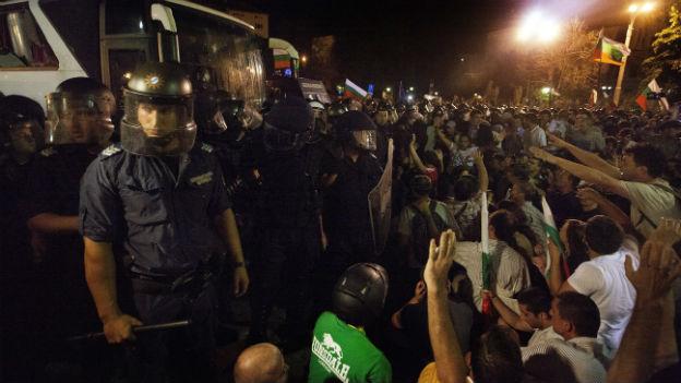 Protest in Bulgarien: «Das Volk will eine transparente Politik»