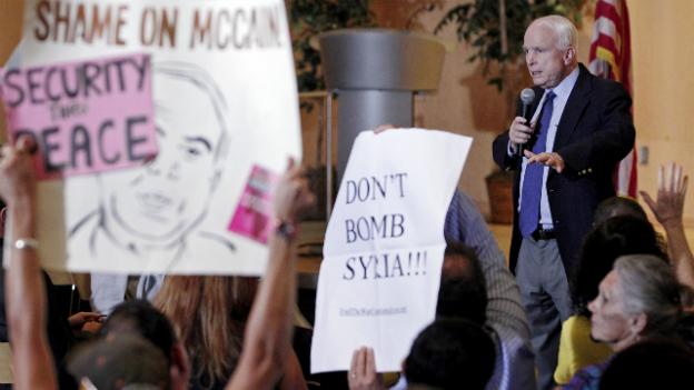 US-Bevölkerung gegen Militäraktion in Syrien