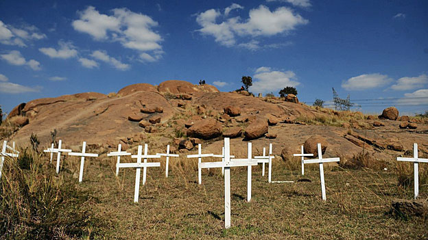 Kritik am Polizeieinsatz gegen Minenarbeiter von Marikana