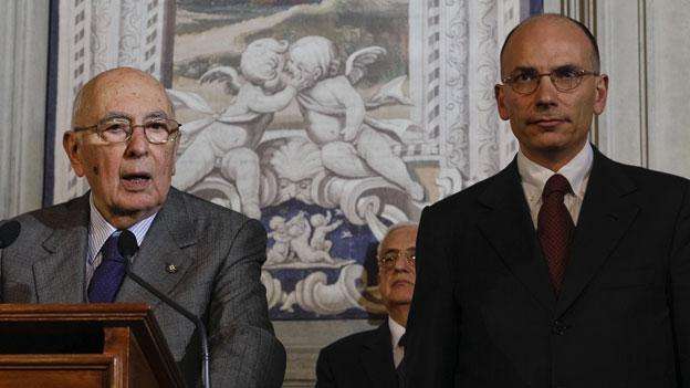 Italien: Regierung Letta in Frage gestellt