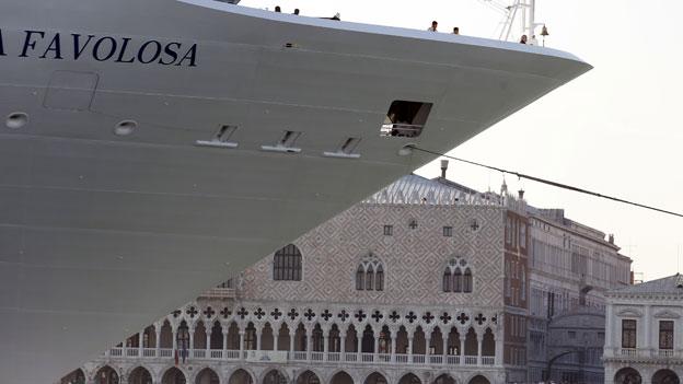 Italien verbietet Riesenkreuzer in Venedig
