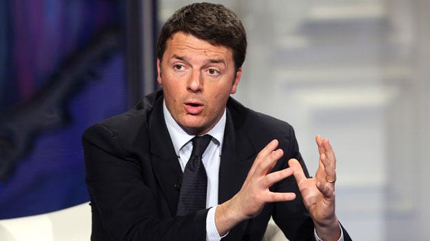 Der neue starke Mann in Italien: Matteo Renzi