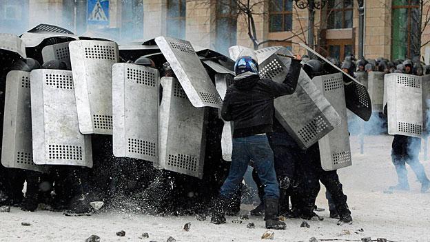 Ukrainische Regierung droht mit «schwerwiegenden Massnahmen»