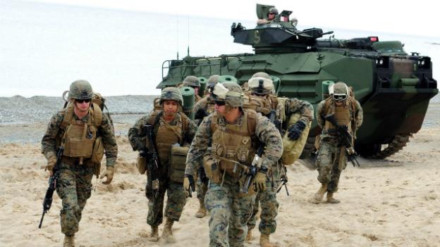 Sparübung beim US-Militär