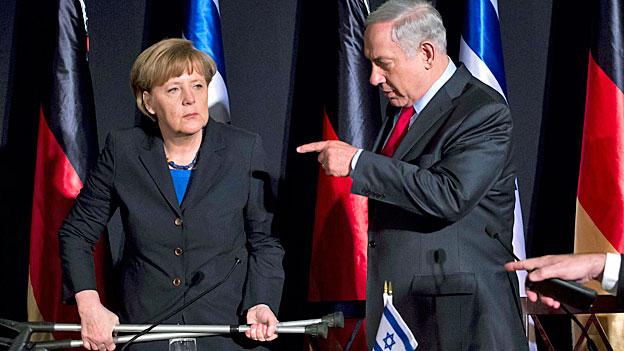 Deutsch-israelisches Treffen: Misstöne beim Thema Siedlungsbau
