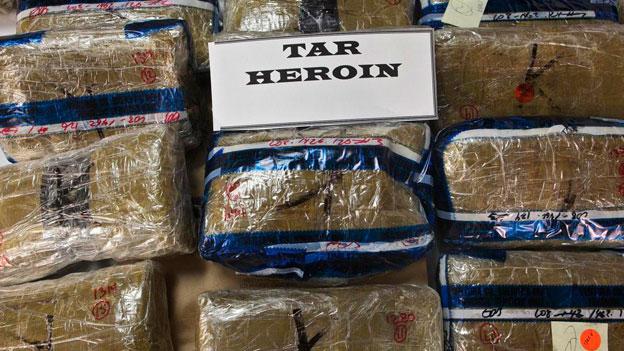 Heroin feiert ein Comeback