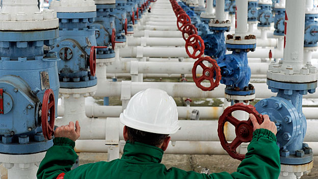 Das Erdgas-Dreieck Russland-Ukraine-Westeuropa