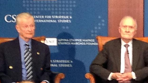 Zbigniew Brzezinksy und Brent Scowcroft zur Krise auf der Krim
