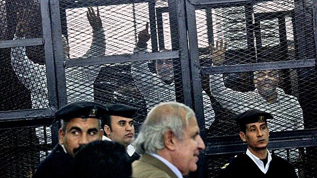 529 Todesurteile in Ägypten