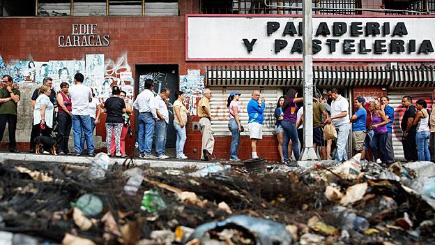 Venezuela am Rande des Abgrundes