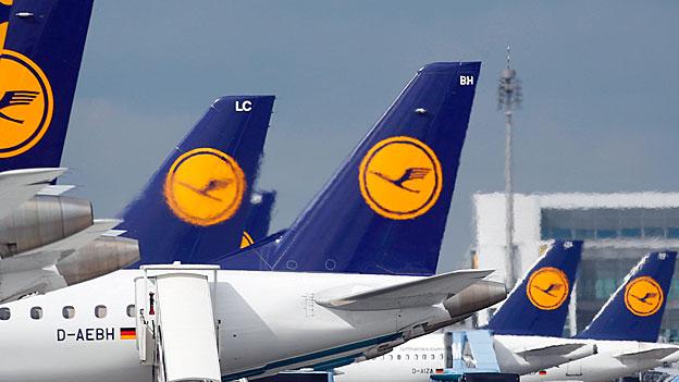 Lufthansa streicht wegen Streik 3800 Flüge