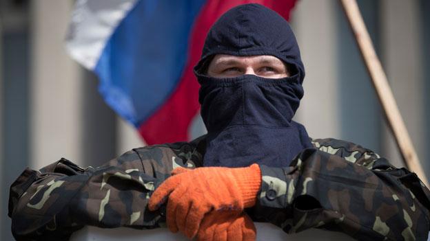 Gespannte Ruhe in der Ost-Ukraine