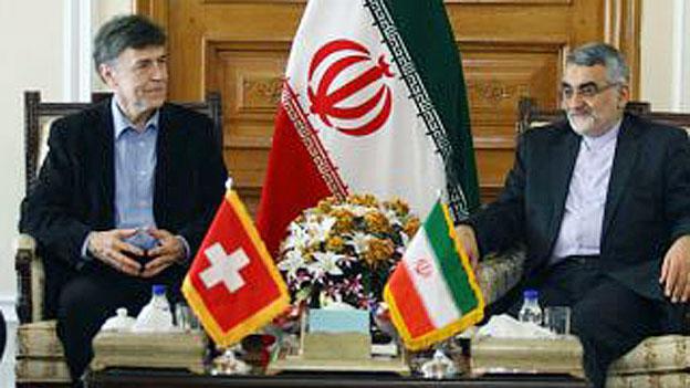 SVP-Politiker unterwegs im Iran