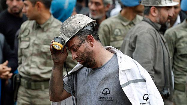 Schweres Bergwerkunglück im Westen der Türkei