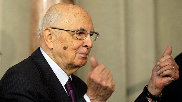 Giorgio Napolitano oder «Re Giorgio» - ein Portrait