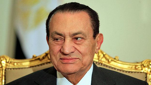 Drei Jahre Gefängnis für Hosni Mubarak