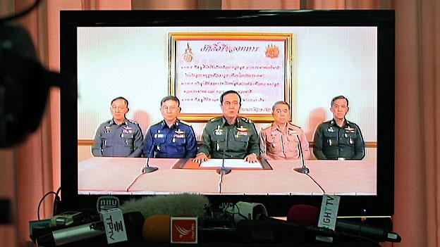 Militärputsch in Thailand