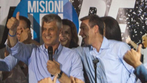 Thaci gewinnt Parlamentswahl im Kosovo