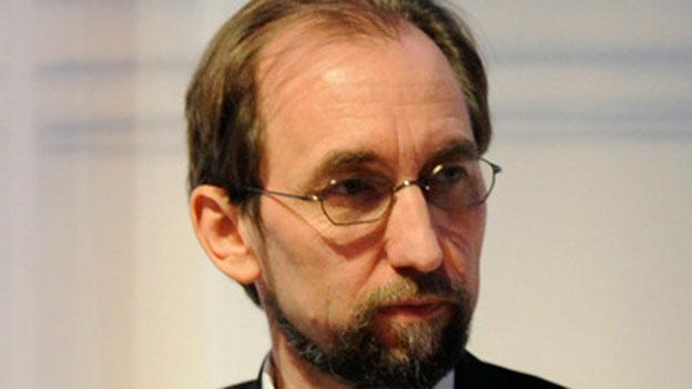 Prinz Zeid Raad al-Hussein wird neuer Uno-Hochkommissar