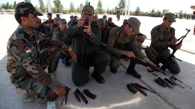 Irakische Kurden: Keine Angst vor Isis-Terror