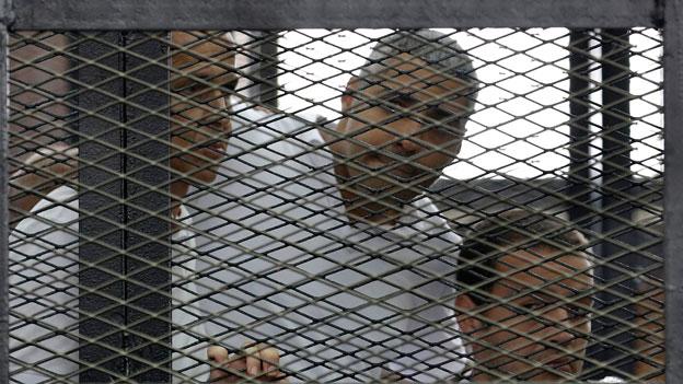 Ägypten: Sieben Jahre Haft für Al-Dschasira-Reporter