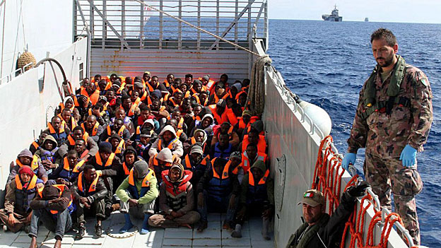 Flüchtlingsstrom übers Mittelmeer - kein Ende absehbar