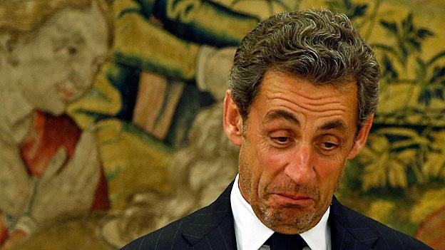 Frankreichs ehemaliger Präsident in Haft