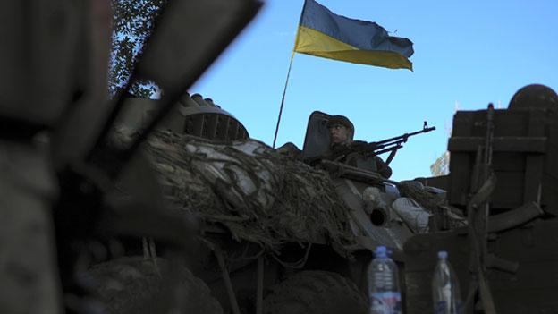 Erneut schwere Gefecht in der Ostukraine