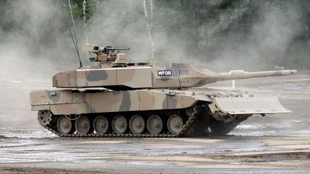 Europas Rüstungsindustrie schrumpft
