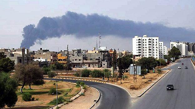 Die Gewalt in Libyen eskaliert