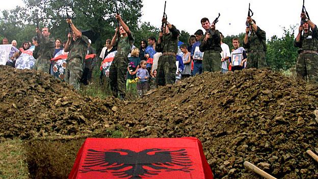 Beweise für Kriegsverbrechen in Kosovo