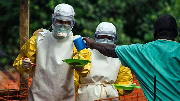 Ebola - heldenhafte Hilfe vor Ort