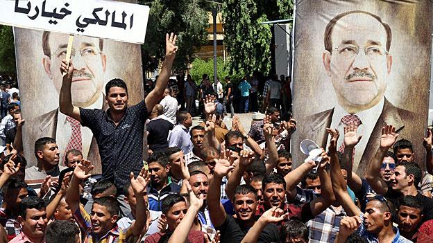 Der Machtkampf zwischen Schiiten stärkt die Islamisten