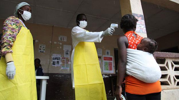 Ebola-Virus: Keine Gefahr zur weltweiten Pandemie