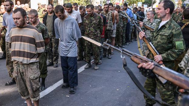 Schwere Menschenrechtsverletzungen in der Ukraine