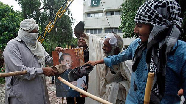 Proteste gegen Pakistans Regierung