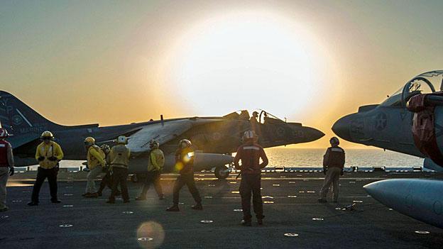Luftangriffe auf den «Islamischen Staat» auch in Syrien