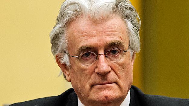 Jugoslawien-Tribunal - Schlussplädoyer im Karadzic-Prozess