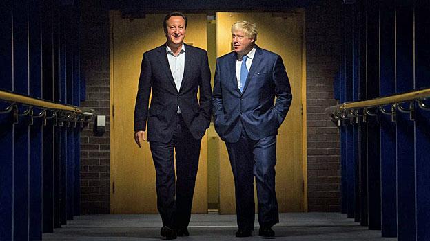 Ein Wilderer in der britischen Parteienlandschaft