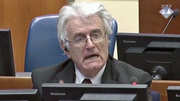Jugoslawien-Tribunal: Die Anklage lügt und Karadzic lügt