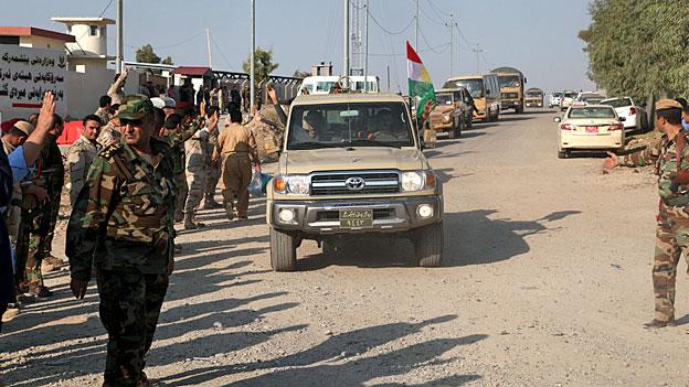 Der Kampf gegen IS lässt Peshmerga-Kämpfer zusammenrücken